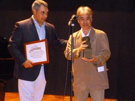 """O profesor """"Taquiño"""" presentou Cantata a Cabanillas ante un auditorio ateigado"""