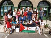 Nigrán-Recepción niños saharauis