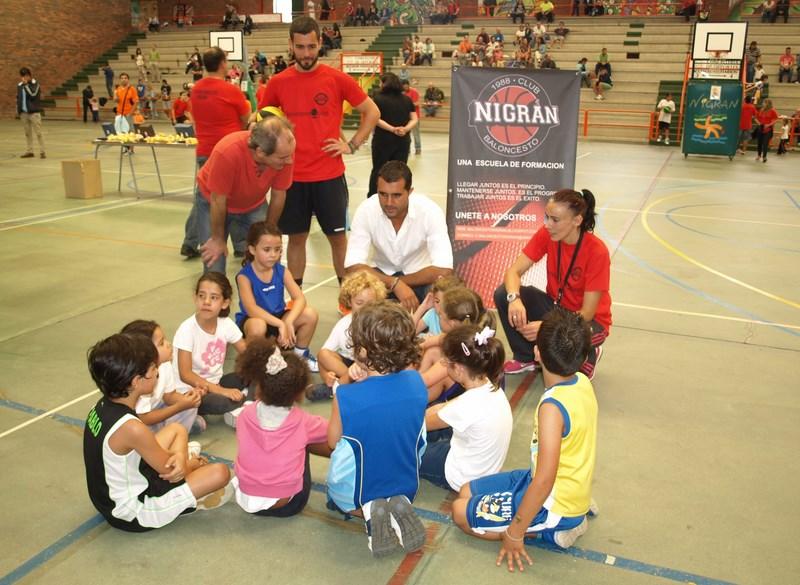 O Club Baloncesto Nigrán presenta o seu equipo de babybasket