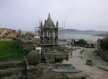 Cruz da Santísima Trindade de Baiona, restauración