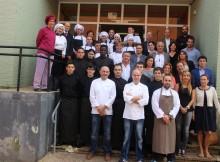 Baiona promociona a súa gastronomía no II Intercambio de Cociñeiros de Vilas Mariñeiras