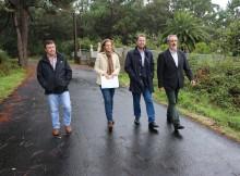 Cores Tourís comprobou as obras de mellora do camiño de Rioseco no Concello do Grove O delegado territorial da Xunta en Pontevedra comprobou así os traballos do Plan Marco que se levaron a cabo cun investimento de 40.000 euros
