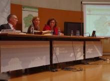 A directora de Turismo de Galicia, Nava Castro, participou onte na V Sesión Plenaria e no acto de clausura do V Congreso Galego de Medio Ambiente e Saúde.