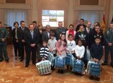 """O subdelegado do Goberno en Pontevedra presidiu a entrega dos premios infantís do I Concurso de Debuxo """"Ponche a Conducir"""""""