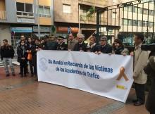 O subdelegado do Goberno en Pontevedra participou esta mañá no minuto de silencio en recordo ás vítimas de accidentes de tráfico