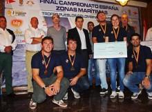 O Canarias Explosivos de Tenerife gaña o Campionato de España de Cruceiros