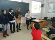 """nenos do CPI Xulia Becerra Malvar de Ribadumia comezan a traballar no programa """"A aventura da vida"""""""