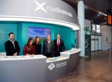 Turismo Rias Baixas ofrece acceso directo á plataforma intelixente Smart Destinos desde a nova oficina inaugurada na terminal de chegadas de Peinador
