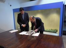 A Autoridade Portuaria de Vigo cede dúas pezas de Faro Silleiropara o Museo da Navegación de Baiona