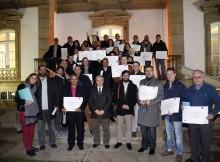 50 alumnos reciben os diplomas de formación dos cursos desenvolvidos pola Deputación e a fundación INCYDE na provincia