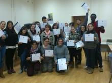 Nigrán.-Clausura do curso Actívate de acompañante de comedor escolar