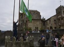 O C.P.I. de Panxón recibe a bandeira verde da sustentabilidade que concede ADEAC