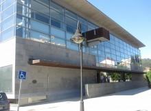Lete Lasa constata o avanzado estado das obras de finalización da piscina municipal de Cangas, logo do convenio que permitiu reactivar o proxecto