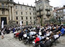 'Música no Camiño', remata o ciclo de bandas de música popular promovido por Turismo de Galicia ao que asistiron centos de peregrinos desde o pasado mes de outubro