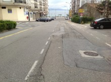 A Deputación investirá 1,3 millóns de euros na reforma da rúa Luis Rocafort e traballa na creación dun paso subterráneo que desconxestione o tráfico na entrada de Sanxenxo