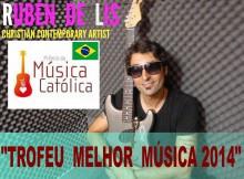 cantautor gondomareño Rubén de Lis premio á Mellor Música Católica en Brasil