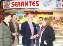 Cores Tourís comprobou o remate das obras de reforma da Praza de Abastos do Concello de Meaño