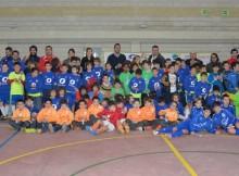 O I Torneo do Panxón Nigrán Fútbol sala recada 180 quilogramos de alimentos e 140 xoguetes