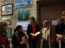 Un total de 35 pinturas forman a exposición pictórica do II Encontro de pintores das Illas Atlánticas