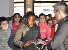 escolares-Concello-Soutomaior-visitan-exposición-Reptigalia-Multiusos-Arcade