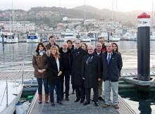 Portos-Galicia-Representantes- porto-francés-Rochelle-visitaron-Monte-Real-Club-Iates-Baiona