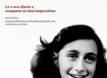 """""""Arredor de Ana Frank""""-primeira-actividade-Asociación-Amigos-Bibliotecas-Municipais-Redondela"""