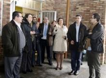 A delegada territorial da Xunta en Vigo, María José Bravo Bosch, informou esta mañá nunha visita ao centro educativo que as obras acaban de ser adxudicadas e comezarán nas vindeiras semanas. Nos últimos anos, Educación realizou distintas reformas na infraestrutura educativa que superan os 50.000 euros de investimento.