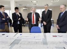 Conde anuncia a inminente posta en marcha do Centro de Investigación Aerotransportada de Rozas