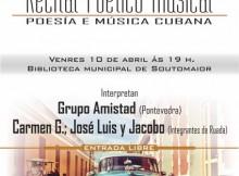 O festival contará con poemas de José Anxo Buesa e Jorge Llopis entre outros autores
