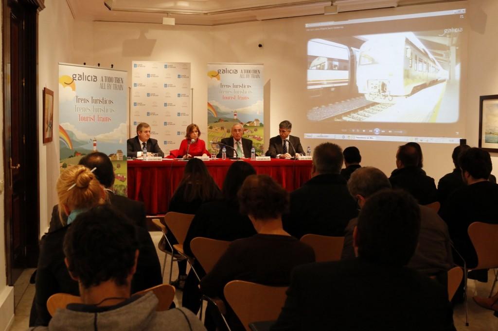 Turismo-Galicia-presenta-Madrid-nova-edición-'Galicia a todo tren'-incorpora-como-principal-novidade-Tren-Peregrino