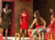 Teatro D. Maria II de Lisboa encheuse a pasada noite para acoller a estrea da obra 'Sax tenor', de Roberto Vidal Bolaño