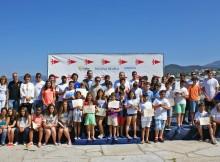 Escola-Vela-ABANCA-Monte-Real-Club-Yates-clausura-tempada-baía-Baiona
