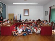 Nenos-Escola-Verán-Concello-Baiona-gozan-dunha-mañá-moi-especial