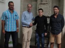 Concello-Baiona-desexa-boa-sorte-baionés-Omar-Rodríguez-Campionato-Europa-Luchas-Olímpicas