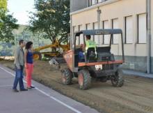 Finalizaron os traballos de mellora nos colexios de Soutomaior para o inicio do novo curso
