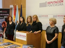 Deputación de Pontevedra organiza un proxecto de acción artística en dez concellos con motivo do Día Internacional contra a Violencia de Xénero