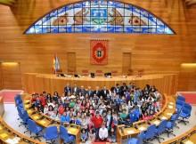 pleno-infantil-no-parlamento-de-galicia