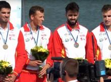 Tres medallas para Galicia no Mundial de Bielorrusia