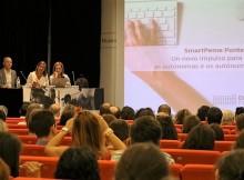 silva-destaca-a-elene-gomez-del-pozuelo-como-referente-do-emprendemento-feminino-na-presentacion-do-proxecto-smartpeme
