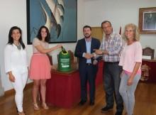 O Concello de Baiona e Ecovidrio animan a participar no trofeo de vidro reciclado para La Vuelta Ciclista España