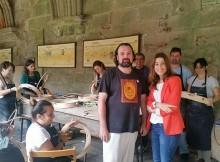 artesania-de-galicia-participa-na-xii-edicion-do-festival-musica-no-claustro-de-tui-para-achegar-o-sector-a-sociedade