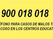 900-018-018-telefono-para-casos-de-malos-tratos-e-acoso-nos-centros-educativos