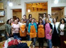 vinte-mulleres-participan-no-curso-de-cocina-en-verde-promovido-pola-deputacion-de-pontevedra