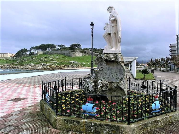 o-concello-de-baiona-descubrira-unha-placa-conmemorativa-na-estatua-de-pinzon-polo-seu-40-aniversario