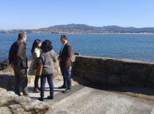tecnicas-do-ministerio-de-medio-ambiente-revisan-en-baiona-o-proxecto-do-que-sera-o-primeiro-talaso-publico-de-galicia