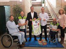 Os dous miñoranos do Club Amfiv campións de Europa reciben a homenaxe do Concello de Baiona