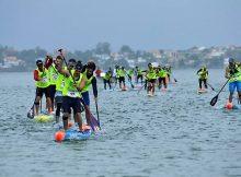 Campeonato de España de Paddlesurf en Baiona