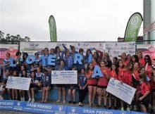 O Kayak Tudense segundo e Breogán terceiro no Nacional de Piragüismo en Pista