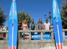 O equipo Waira recibe as primeiras unidades de Starboard que participarán no Campionato do Mundo