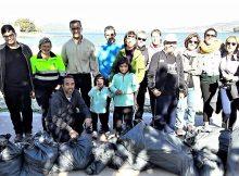 grupo-voluntarios-retiraron-da-praia-ladeira-baiona-preto-100-quilos-residuos
